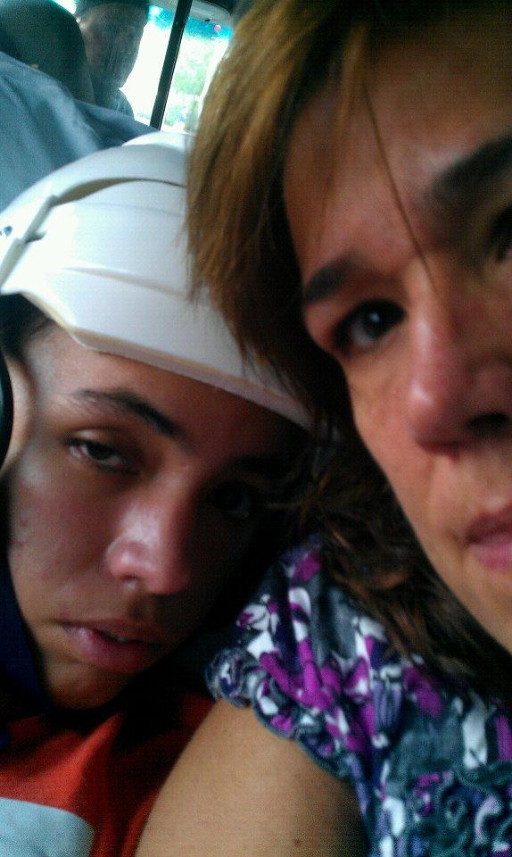 Me and mami