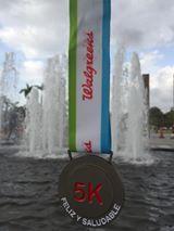 Walgreens 5k medal