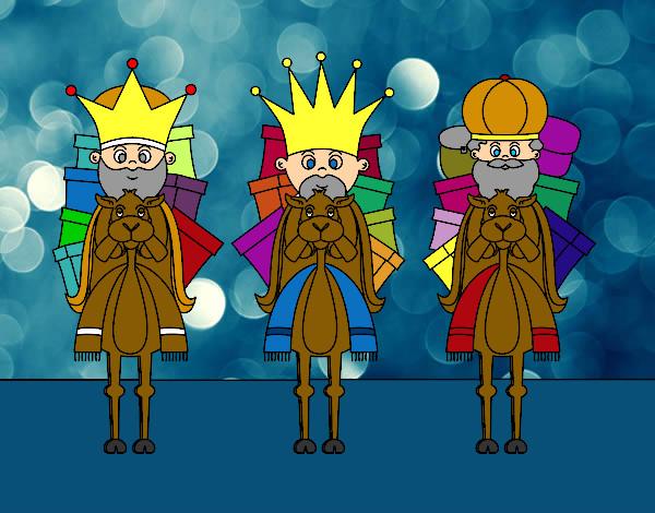 reyes-magos-en-camello-fiestas-navidad-pintado-por-janm-9914672